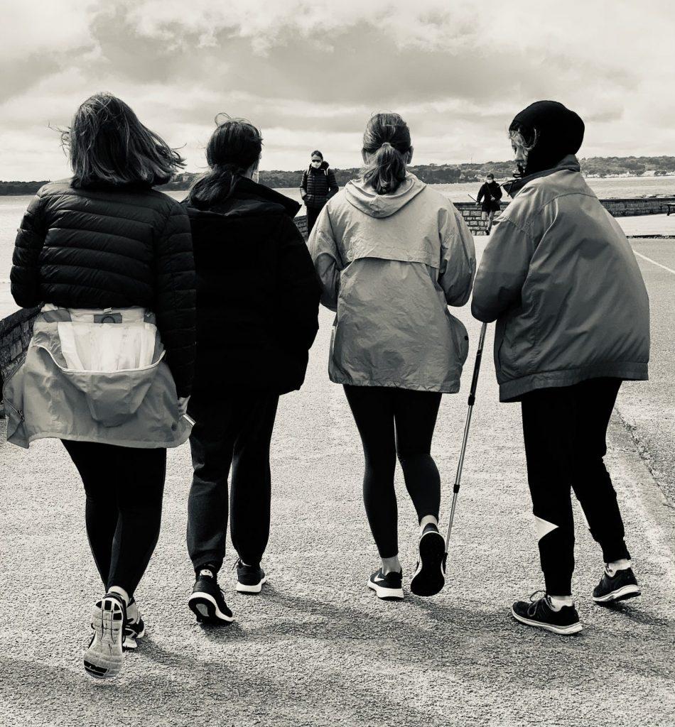 Étape 25 bis - Le Cabellou / Concarneau 9 - La Marche des Femmes Invisibles